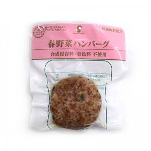 春野菜ハンバーグ
